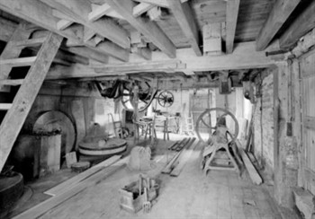 Mill Interior, © Crown copyright, EH